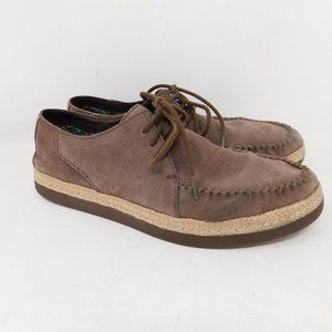 UGG Brown Suede Shoes Mens 11 Casual